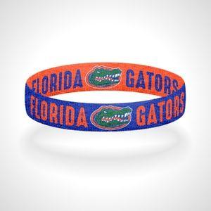 Reversible Florida Gators Bracelet Wristband